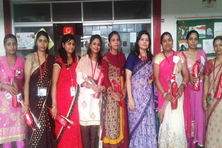 Rishikul International School-teahers day celebration