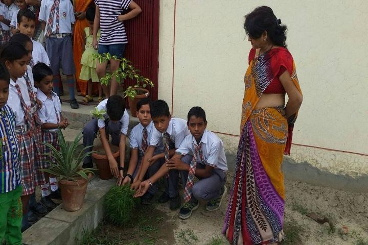 Rishikul Vidhyapeeth-earth day