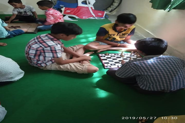 Rockland International School- indoor games