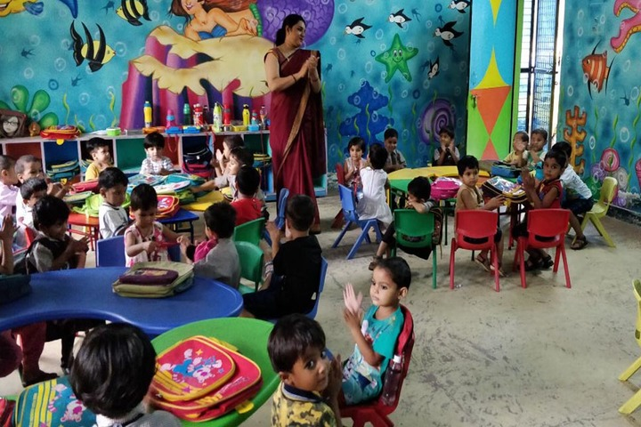 Rockland International School- junior wing classroom