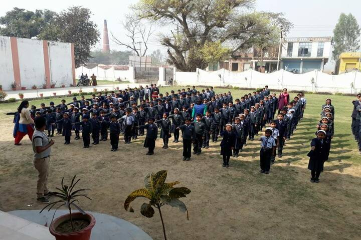 Rohilas International School- assembly