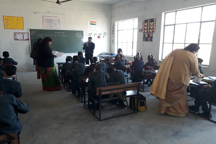 Rohilas International School- classroom