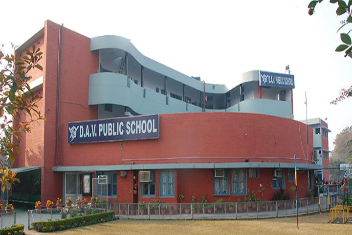 DAV Public School Chandigarh-campus