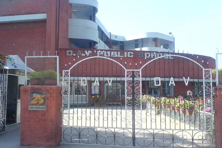 DAV Public School Chandigarh-entrance gate