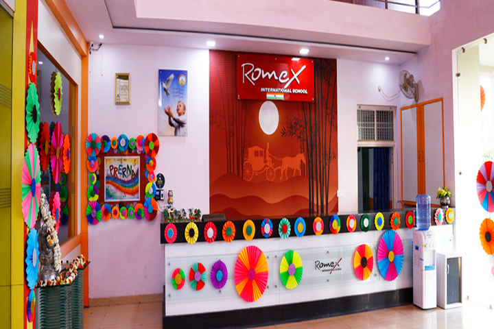 Romex International School- reception