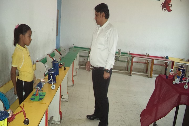 Romex International School-science exhibition