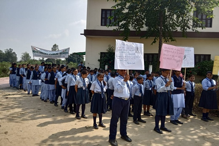 Rose Valley Public School-Gandhi Jayanti Activity