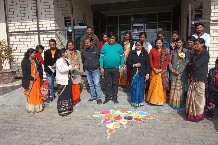 Rose Valley Public School-Rangoli Competition