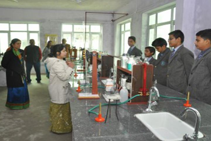 Royal Blue Public School- science lab