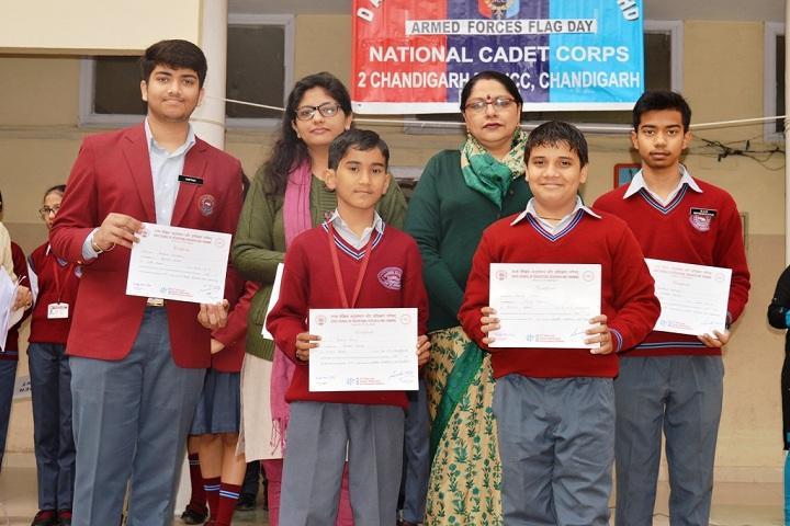 D A V Model School-Achievements