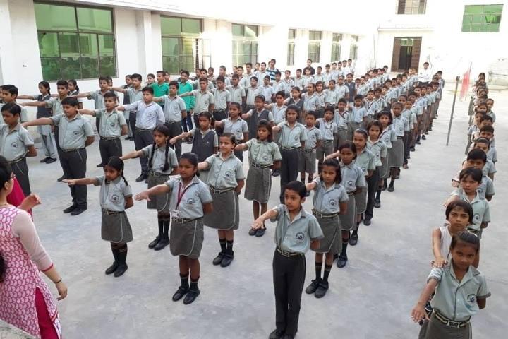 Rudra International Public School- Assembly