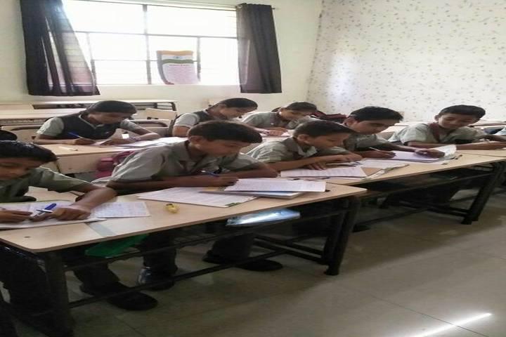 Rudra International Public School- Classroom