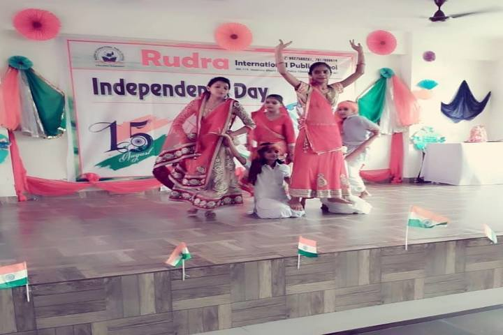 Rudra International Public School- Independence day