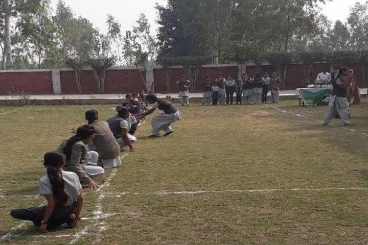 Rudra International Public School- Play ground