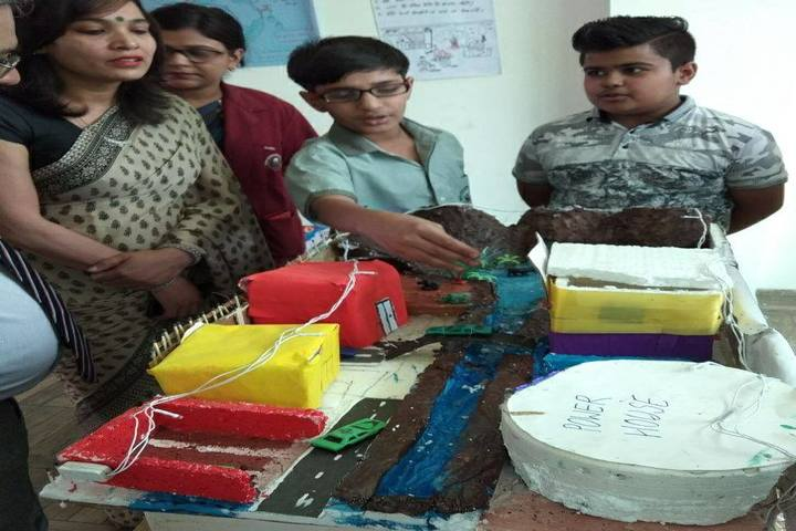 Rudra International Public School- Science Exhibition