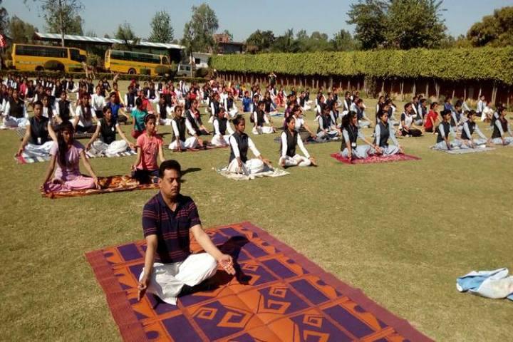 Rudra International Public School- Yoga