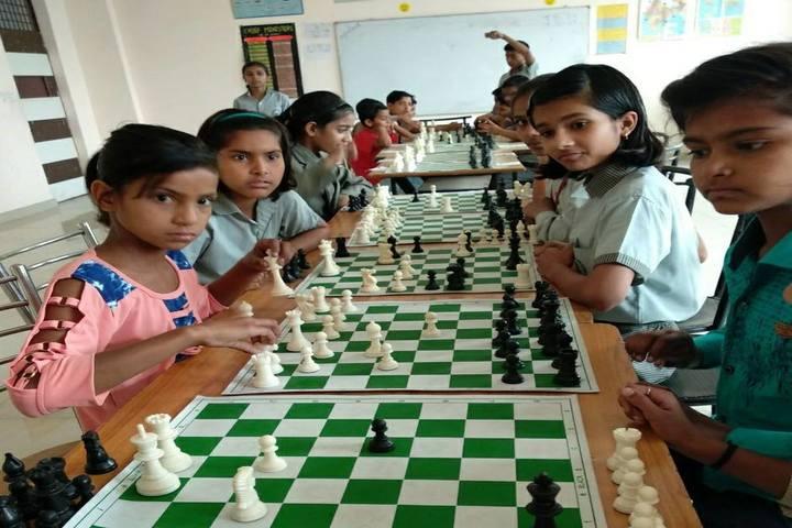 Rudra International Public School- indoor games