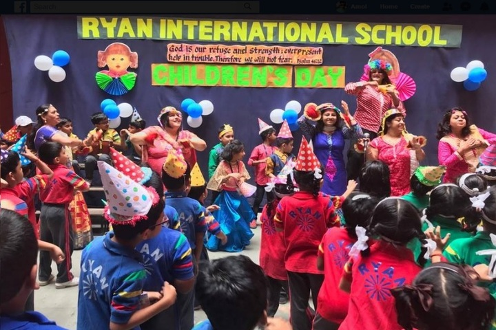 Ryan International School-Children day celebration