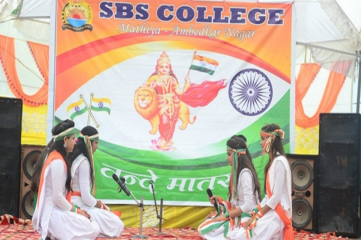 S B S College-Independance Day Celebrations