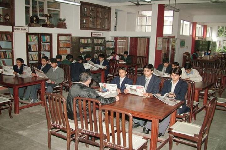 dav sr secondary school-library