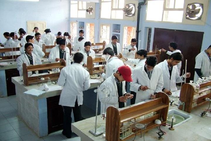 dav sr secondary school-science lab