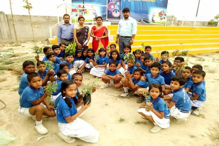 S D Mother International School- Plantation day