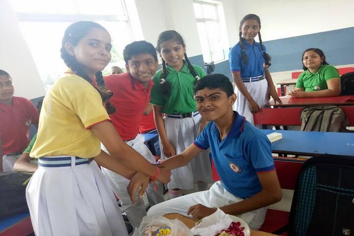 S D Mother International School- Rakhi celebration