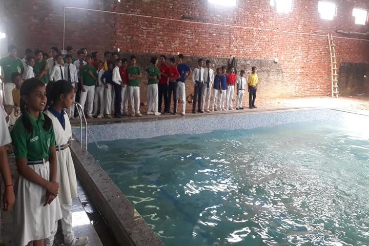 S J S Public School-Swimming View