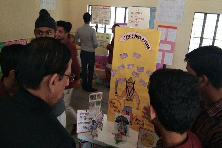 S P M Dav Public School- Art Exhibition