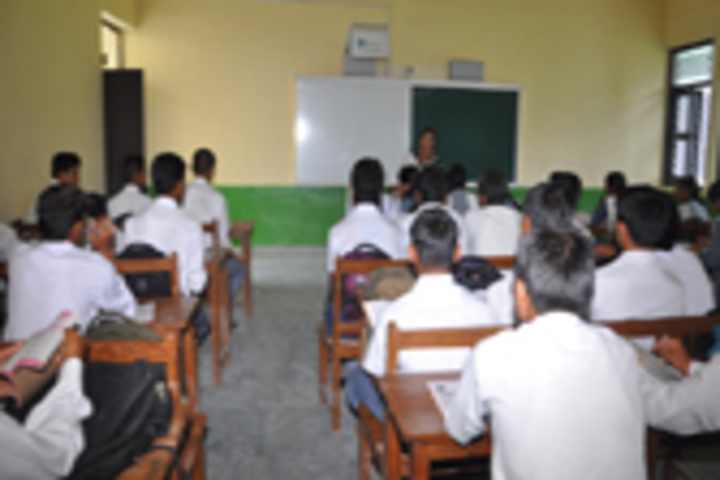 S S Memorial Senior Secondary Public School- Classroom