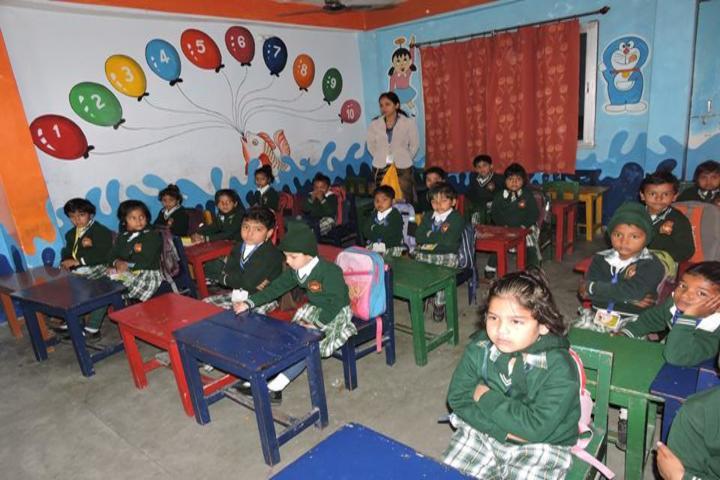 Sushila Singh Public School- Junior classroom