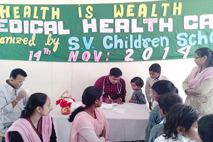 S V Children School-Medical Checkup