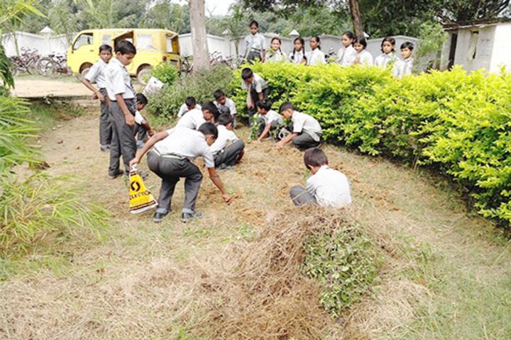 S V Children School-Swachh Bharat