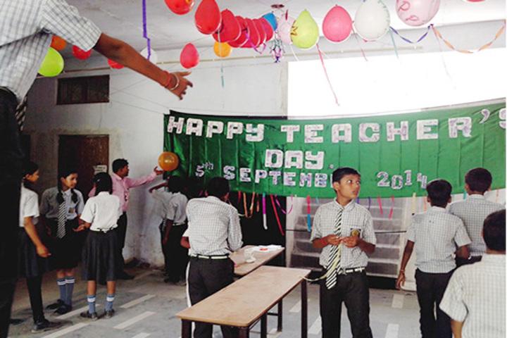 S V Children School-Teacher Day