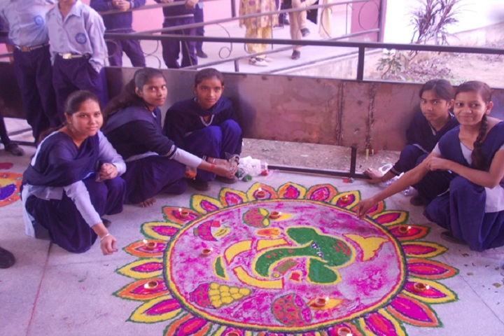 Government model high school-rangoli2