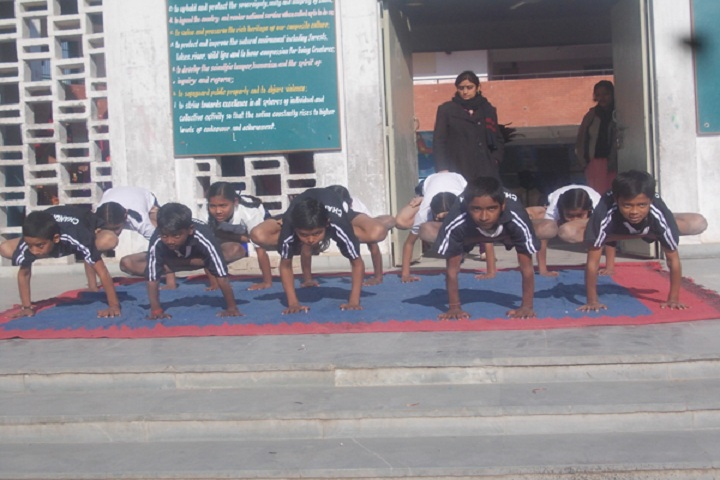 Government model high school-yoga