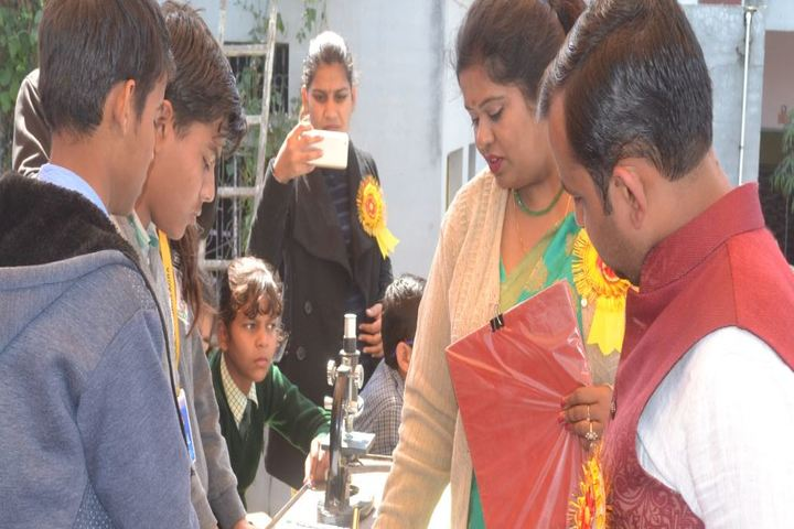 S G Public School-Science Fair
