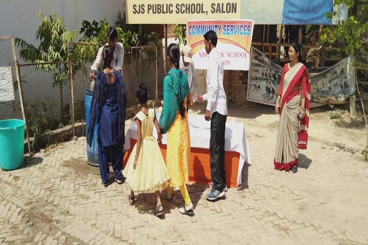 SJS Public School-community services