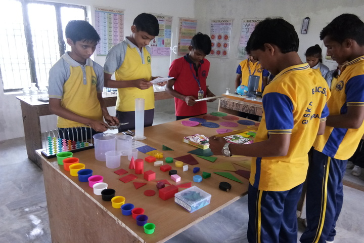 SKD Public School- Maths lab