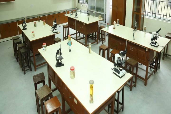 S M Public School- Biology lab