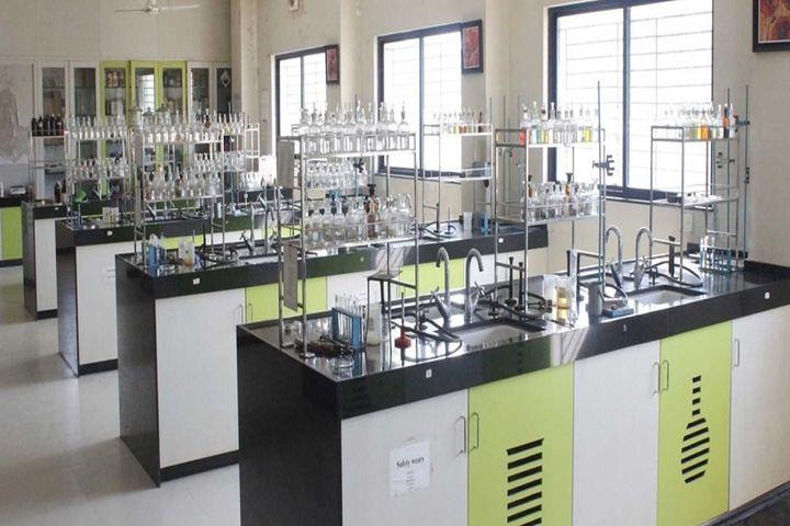 S M Public School- Chemistry lab