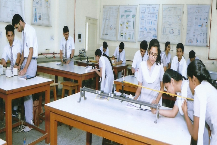 S M Public School- Physics lab
