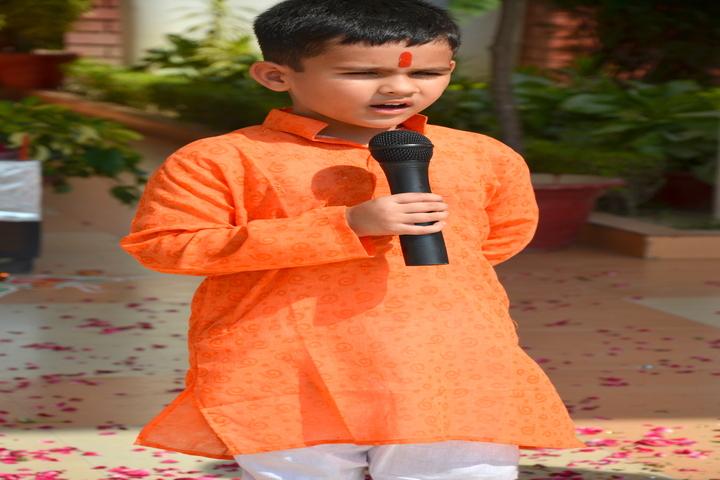 S R International School-Singing