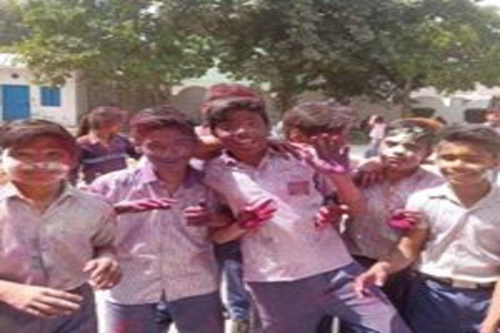 S S K Public School-  Holi Celebration