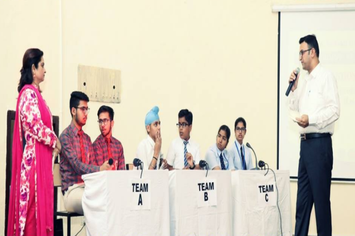 Government Girls Senior Secondary School-Quiz