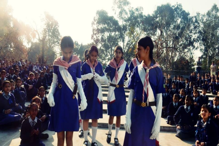 Government Girls Senior Secondary School-Scouts And Guide