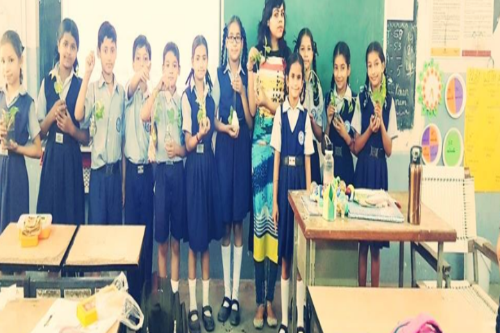 Government Girls Senior Secondary School-Sowing Seeds Art