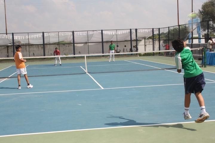 Sachdeva Millennium School-Tennis court