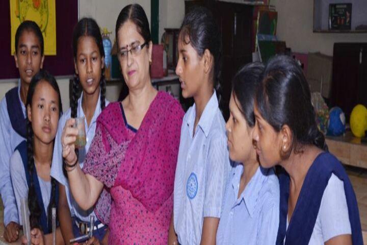 Government Girls Senior Secondary School-Chemistry Lab