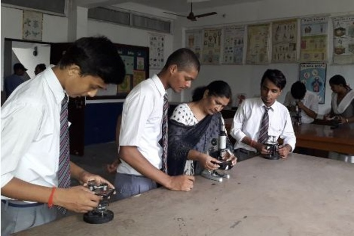 Sainik Public School- Biology lab